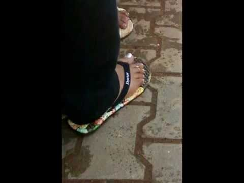 Indian candid feet 9