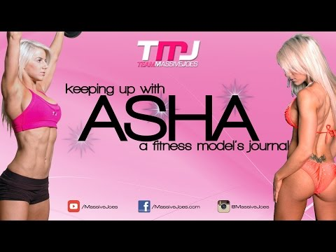 Keeping Up With Asha | A Fitness Model's Journal Season 2 Ep 12: Chest Workout | MassiveJoes.com