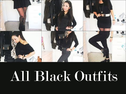 Total BLACK OUTFITS Idee outfits in TENDENZA | DanisGlamour ❤
