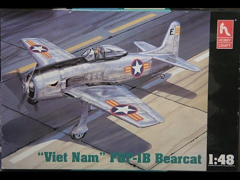 Hobby Craft 1/48 F8F Bearcat Build Final Reveal