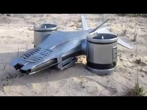 The Terminator helicopter – flying vehicle in RC model