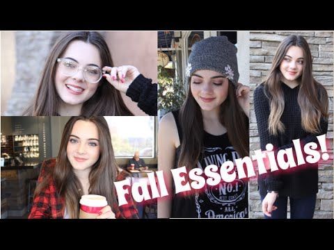 My Must-Have Fall Essentials! Food,Music,Fashion & More!