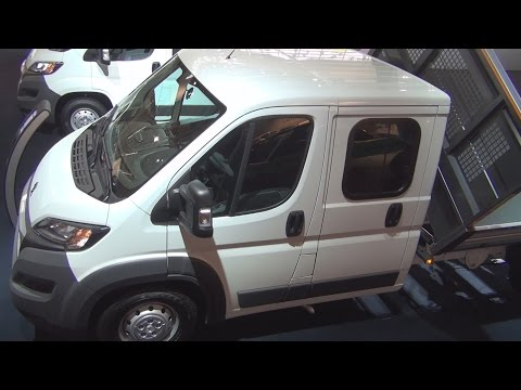 Peugeot Boxer Tipper Edition Double Cab 435 L3 2.2l HDi 130 Exterior and Interior in 3D 4K UHD