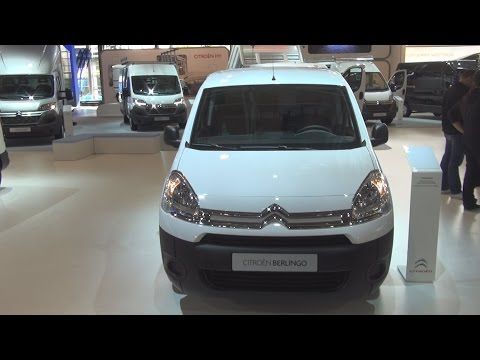 Citroën Berlingo L2 HDi 90 PharmaTransport Exterior and Interior in 3D 4K UHD