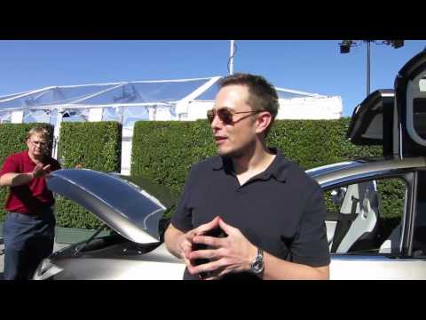 Tesla Model X Launch Elon Musk Interview [new] HD 720p