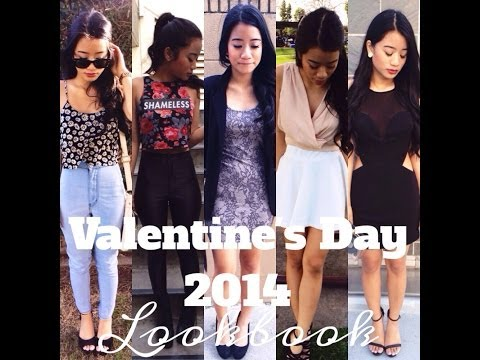 VALENTINE'S DAY LOOKBOOK 2014