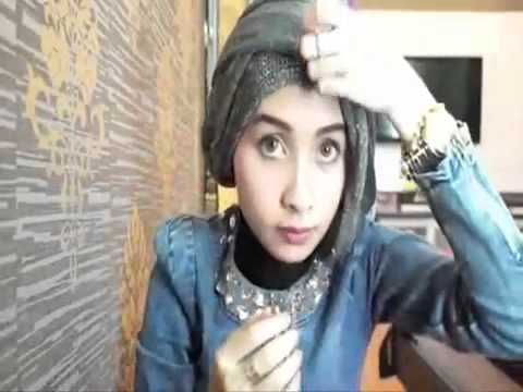HIJAB TUTORIAL   Hijab Modern For Graduation or Party Full View