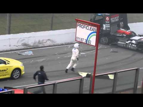 European Truck Racing Championship Crash Circuit Zolder 2013 !! By Kayseri