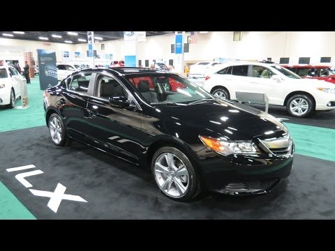 2014 Acura ILX At The 2014 Toledo Auto Show