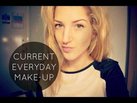 CURRENT EVERYDAY MAKEUP ♡  GRWM