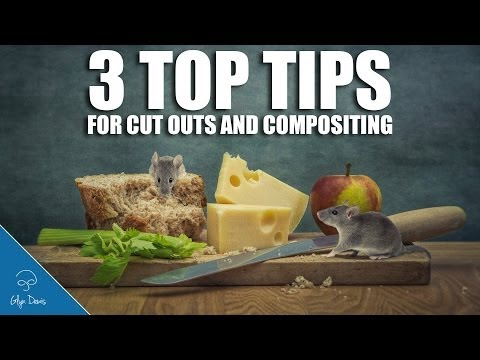 PHOTOSHOP TUTORIAL: 3 TOP TIPS for Cut Outs and Compositing #35