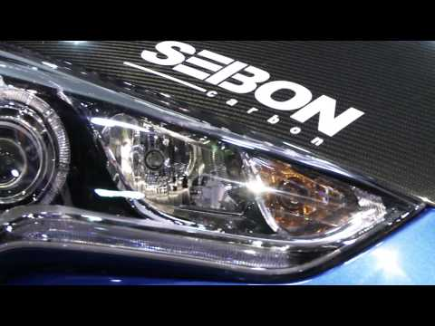 Take a tour of Hyundai's booth at the 2011 SEMA Show