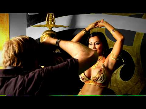 The Bengali Cleopatra (Egyptian photoshoot) With Bangladeshi Author L.A. Sherman