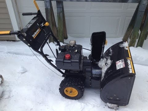 MTD Yard Machine Snow Blower Replace Drive Cable Part 1 of 2
