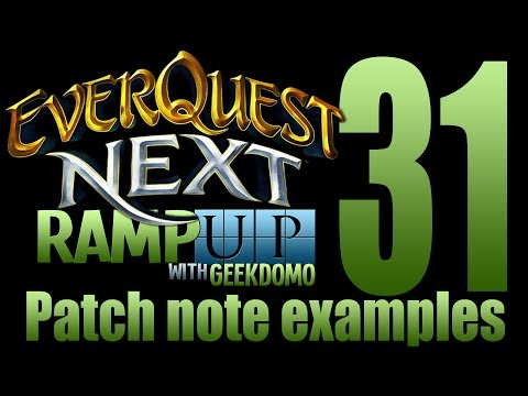 EQNL – Patch Notes – Examples