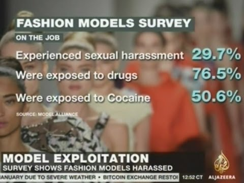 I'M SHOCKED! To Hear That Fashion Models Are Exploited And Coerced With Illegal Drugs