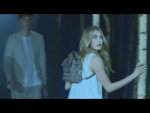 London Fashion Week: Cara Delevingne unveils three new Mulberry bags