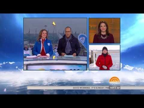 Shows: Dylan Dreyer booty covered up by Winter Coat (2/17/14)