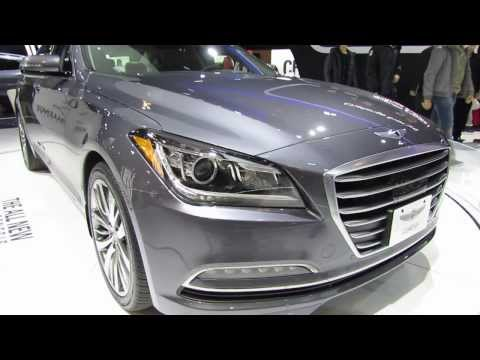 2015 Hyundai Genesis At The 2014 CIAS Canadian Auto Show In Torornto