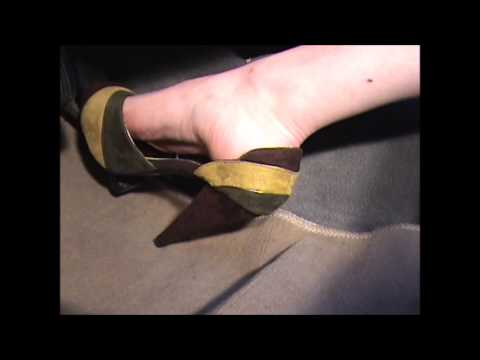 Rev in Tri color Suede heels YT