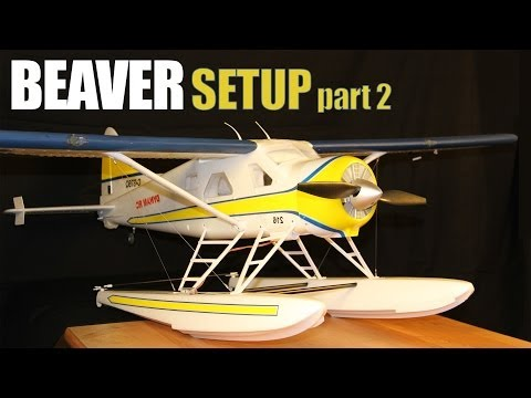 MHF/REVIEW/ Beaver DHC-2/ Setup with floats