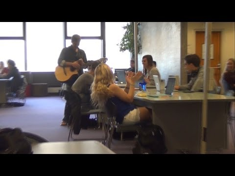 Serenading University Girls In The Library(Part 3)