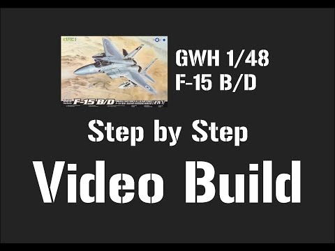 Great Wall Hobby 1/48 F-15 B/D Step by Step Video Build – Part 2
