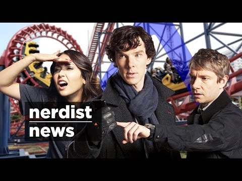 SHERLOCK Theme Park, ROCKET RACCOON'S Voice & APPLE-TESLA Car: Nerdist News w/ Jessica Chobot