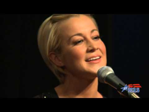 "Kellie Pickler ""Red High Heels"" LIVE at US 103.5"