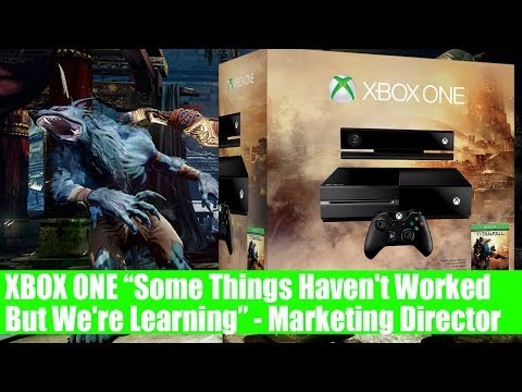 "Xbox One Marketing Director ""Some Things Haven't Worked But We're Learning"""