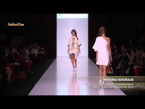 Full Shows Historia Naturalis Belarus Fashion Week Collective Show MBFW Russia Spring Summer 2014 Pa