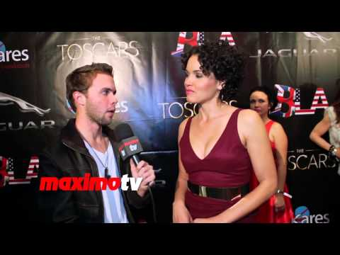 Susie Castillo Interview 7th Annual TOSCARS Awards Show Red Carpet