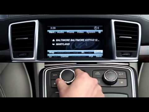 COMAND Navigation Destination Entry Mercedes Benz USA Owners Support ! ByKayseri