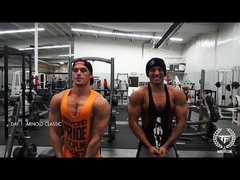 DAY 1: ARNOLD CLASSIC WITH FITT, GUZMAN & ALBONETTI – CHEST WORKOUT