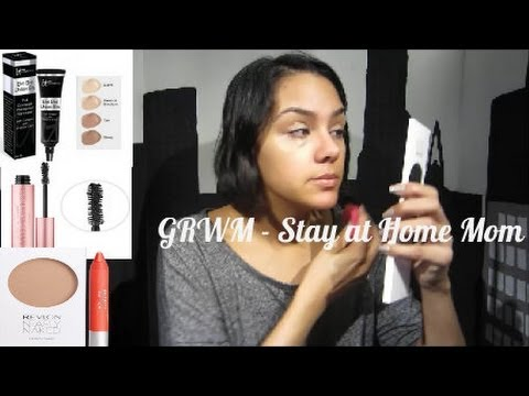 Get Ready with Me – Stay at Home Mom