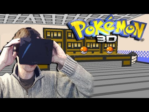 Pokemon 3D with the Oculus Rift | OCULUS I CHOOSE YOU!!