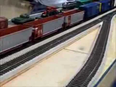 A Day At The 2014 Harper College Model Train Show Part 1 of 2