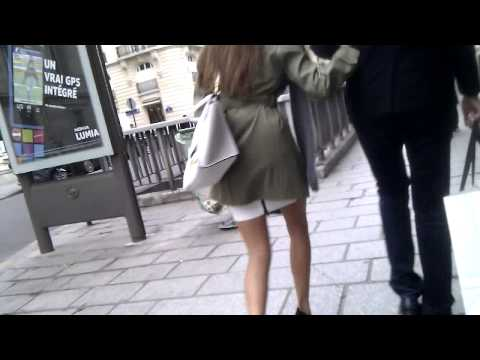 New 167 So sexy legs and amazing high heels shoes in public Style
