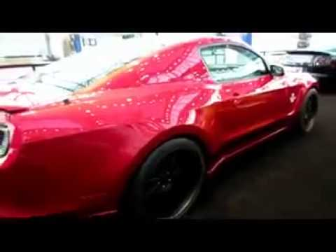 2014 Ford Mustang Shelby GT500 Convertible Exterior and Interior Walkaround 2013 LA Auto S