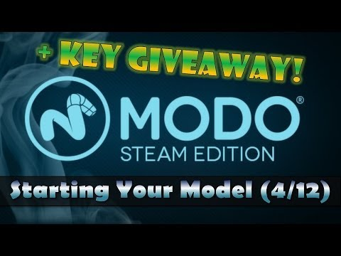 Starting Your Model – MODO Steam Edition (4/12)