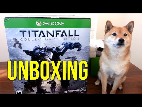 Titanfall Collector's Edition Unboxing (w/ Doge) – Thank you @sledgehammer70