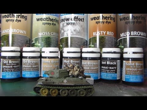 Product Review – Model Mates weathering products