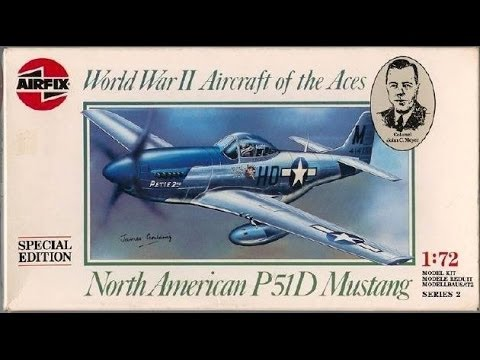 Russell Gosselin's D-Day Group Build: Airfix 1:72 Scale North American P-51D Mustang Part 2