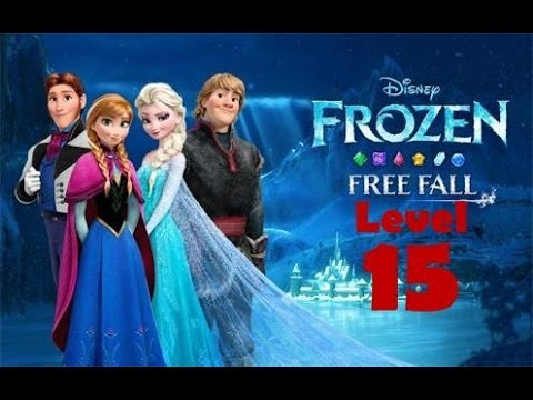 Disney FROZEN Free Fall [Level 15] Walkthrough 3 Star GAMEPLAY 2014 Android Game