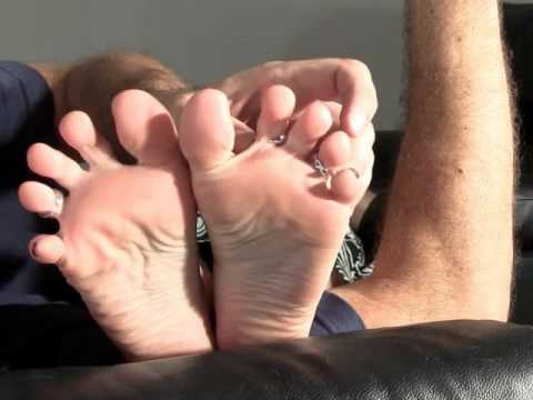 double relaxing foot caress