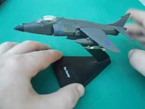 air combat collection sea harrier jump jet model plane