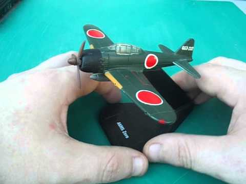 air combat collection mitsubishi a6m5 zero model plane