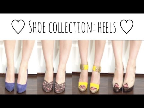 Shoe Collection: Heels