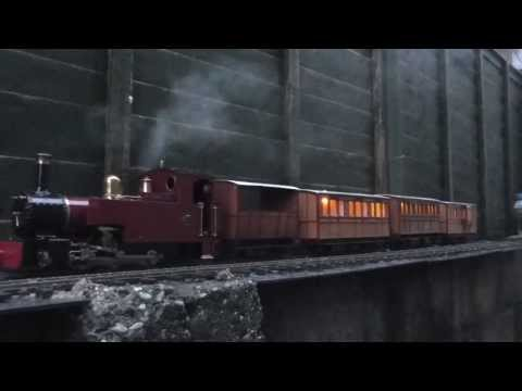 Roundhouse Lady Anne & Freelance Coaches – Lighting Test