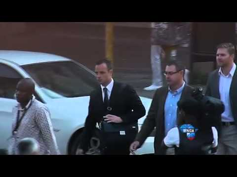 Pistorius Trial: Day 12 – Oscar arrives in court